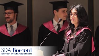 Commencement Speech 2012 - Full-Time MBA | SDA Bocconi