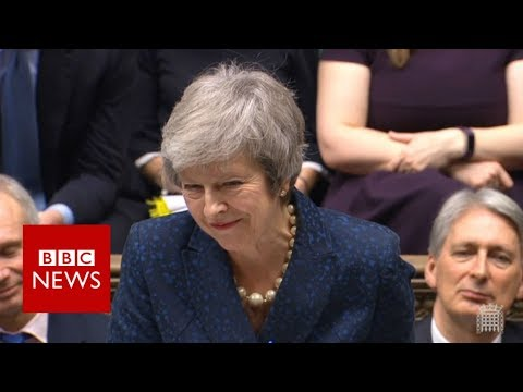 Xxx Mp4 Embattled May Faces PMQs Ahead Of Crucial Vote BBC News 3gp Sex