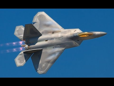 WORLDS MOST FEARED US Air Force F-22 Aircraft ready to make the Russians jealous