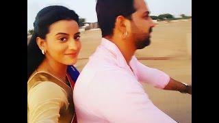Pawan Singh With Akshra Singh    During Shot Film ( सत्या )    Bhojpuri Super hit Film Satya 2016