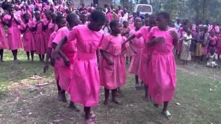 Rukiga Dance at the Kishanje Public School Uganda