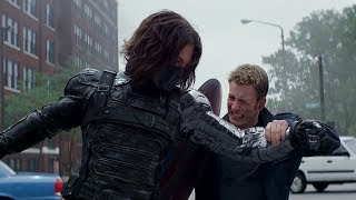 Captain America Fight Moves Compilation   Civil War included in 1080p Full HD