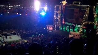 CM Punk vs John Cena Entrance MITB 07-17-11