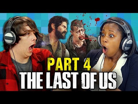 THE LAST OF US: PART 4 (Teens React: Gaming)