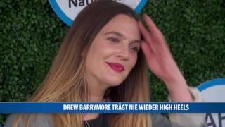 Drew Barrymore: Nie wieder High Heels