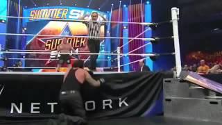 Brock Lesnar vs The Undertaker Highlights Summerslam 2015