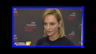Breaking News | Uma thurman gives powerful response to ual harassment in hollywood