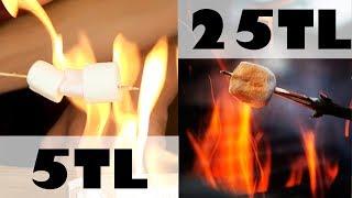 5 TL VS. 25 TL