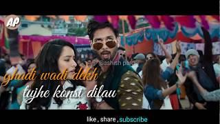 Gold tamba whatsapp status video | Batti gul meter chalu  | shraddha kapoor , shahid kapoor
