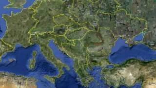 Google Earth - New European map !