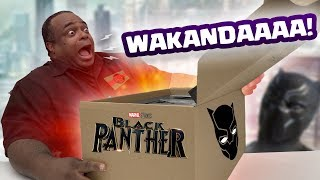 BLACK PANTHER MYSTERY UNBOXING!