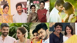 You Never See This Tollywood Celebrities Love Marriage Photos | Tollywood Celebrity Marriage Photos
