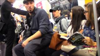 Ultimate SITTING on people compilation! NYC