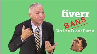 Attention Gamers: Fiverr Banned VoiceOverPete and He Needs Your Help!