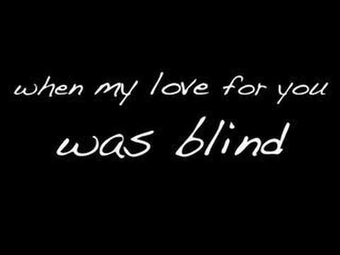 Blind by Lifehouse