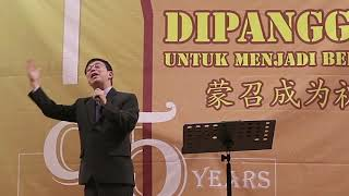 Dipanggil Untuk Menjadi Berkat - Pdt. Benny Solihin - HUT 95 GKI Makassar