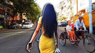Walking in Downtown Yangon