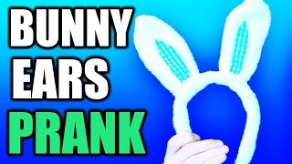 Angry Dad Spanks Son after Bunny Ears Prank