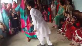 pashto boy & girl dance || homemade dance || wedding dance || robotic