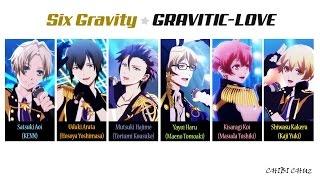 [TSUKIUTA] GRAVITIC-LOVE - Six Gravity (Lyrics)