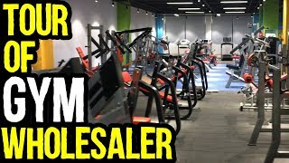 Gym Samaan Wholesaler in China Tour | Azad Chaiwala Show