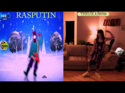 Just Dance 3 Kinect DLC Rasputin 5 stars Hard