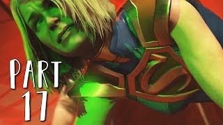INJUSTICE 2 Walkthrough Gameplay Part 17 - Blue Beetle (Story Mode)