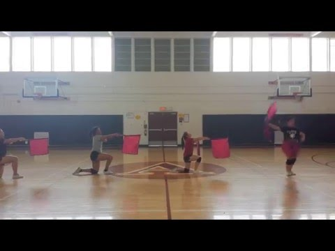 Xxx Mp4 Arcadia High School Pep Flags Competition Routine 2016 3gp Sex