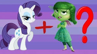 My Little Pony As Emotions From Inside Out!