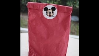 Opening a Disney Grab Bag from Downtown Disney Marketplace!