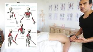 Tutorial on how to combine Bowen Technique with a full body massage treatment