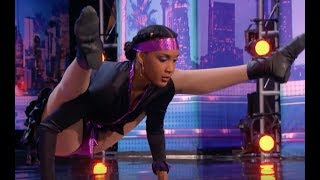 Shemike Limbos Under the CAR and Amazes the Judges | Week 3 | America