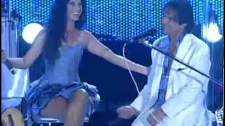 Roberto Carlos & Paula Fernandes Pout-pourri Especial de Natal Praia de Copacabana 2010