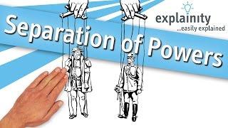 Separation of Powers explained (explainity® explainer video)