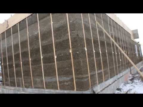 Как построить монолитный дом своими руками видео