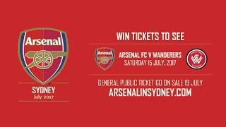 Club Friendlies: Western Sydney Wanderers VS Arsenal