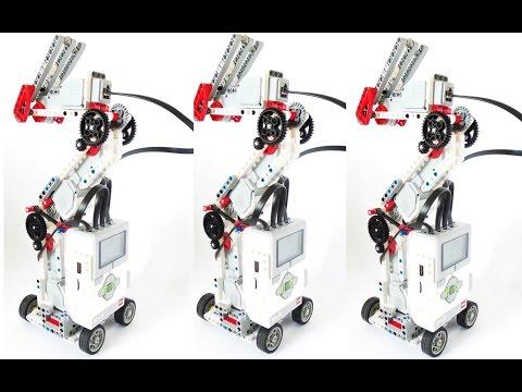 The lego ev3 robotic arm daikhlo for Ev3 medium motor arm