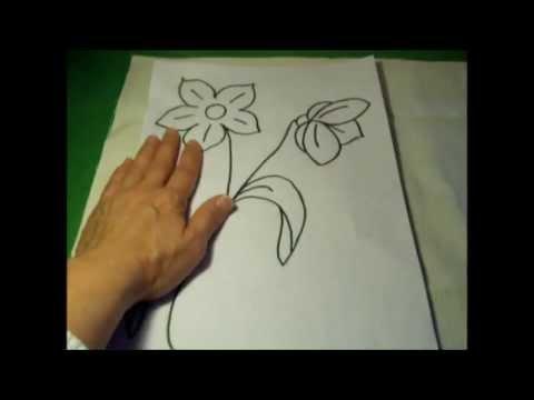 Curso de bordado básico 3 Dibujar plantillas para bordar
