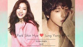 Park Shin Hye and Jung Yong Hwa 2017 | YongShin Moments