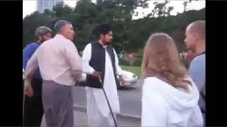 Punjabi Uncle Fighting