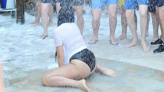 EXCLUSIVE: Geordie Shore Wet T-Shirt & Foam Party At Nissi Beach, Ayia Napa