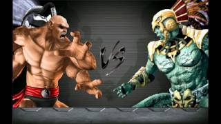 Mortal Kombat BOSS tournament! (Goro, Kintaro Motaro, Shang) vs Kotal Kahn, Shao Kahn, Shinnok