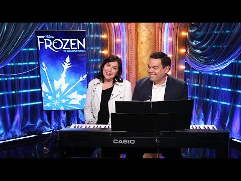 Xxx Mp4 FROZEN Songwriters Kristen Anderson Lopez And Robert Lopez On Bringing The Show To Broadway 3gp Sex
