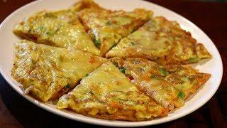 നല്ല എളുപ്പത്തിൽ ഒരു ഗോതമ്പു എഗ്ഗ് പിസ്സ / Tawa Pizza Recipe - NO OVEN PIZZA/Wheat Egg Pizza EP: 876