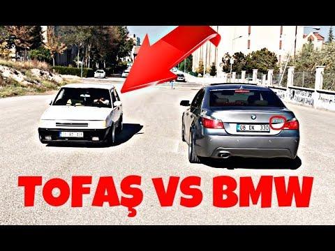 Tofaş Bmw'ye Kafa Tutarsa! |Tofaş VS BMW (Böyle yarış Görülmedi)