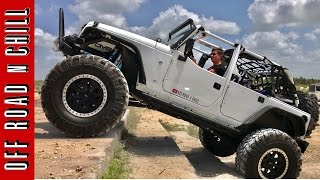 Jeep Wrangler Off Road / Go Topless day 2017 at Lazy Springs