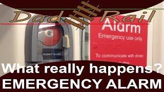 Train Driver Vlog 007 - The Passenger Emergency Alarm Button. - Dad Rail HD