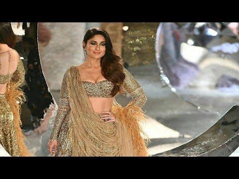 Xxx Mp4 Kareena Kapoor Khan Walks For Falguni Shane Peacock India Couture Week 2018 3gp Sex