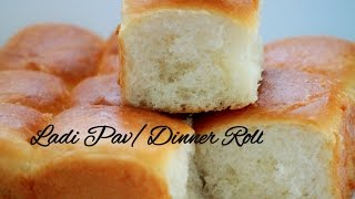 Eggless Ladi Pav Bread Buns Recipe(Easy Eggless and Vegan Dinner Rolls)