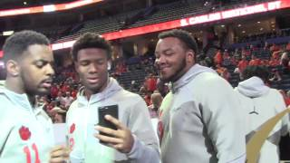 TigerNet.com - Shadell Bell interviews Johnson and Kelly Bryant